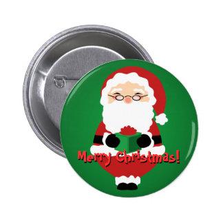 Happy Santa Button