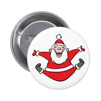 Happy Santa Buttons