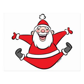 Happy Santa Christmas Cards