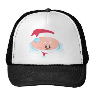 Happy Santa Claus face Trucker Hat