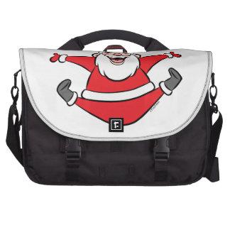 Happy Santa Commuter Bags