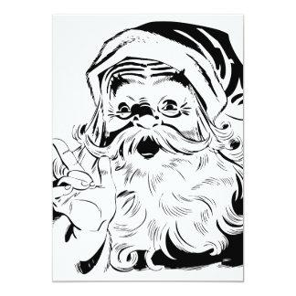 Happy Santa Invites