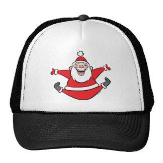 Happy Santa Mesh Hat