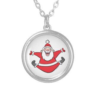 Happy Santa Necklace