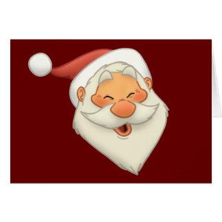 Happy Santa Note Card