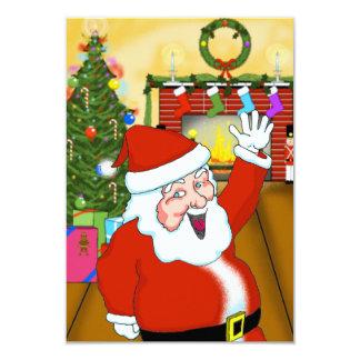 Happy Santa Party Invite (Customizable)