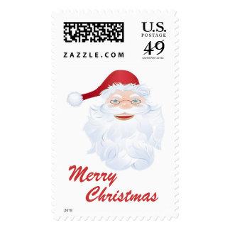 happy santa stamps