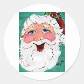 Happy Santa Sticker Full Image