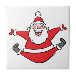 Happy Santa Ceramic Tiles