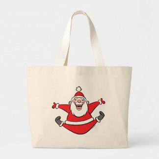 Happy Santa Tote Bags