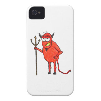 Happy Satan's Grill iPhone 4 Covers
