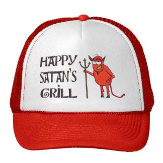 Happy Satan's Grill Trucker Hat
