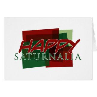 Happy Saturnalia 02 Card