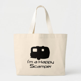 Happy Scamper Fun Stuff! Large Tote Bag