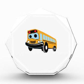 HAPPY SCHOOL BUS ACRYLIC AWARD