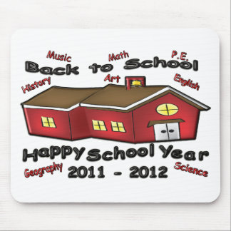 Happy School Year Mouse Pad