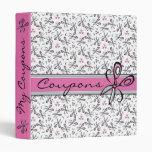 Happy Scissors Coupon Organizer Notebook Binders