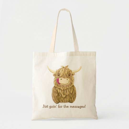 Hy Scottish Highland Cow Tote Bag