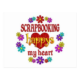 Happy Scrapbooking Postcard