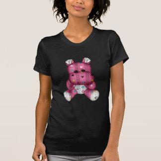 happy scribble hearts hippo t shirt