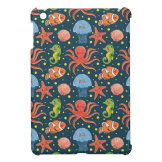 Happy Sea Animal iPad Mini Cases