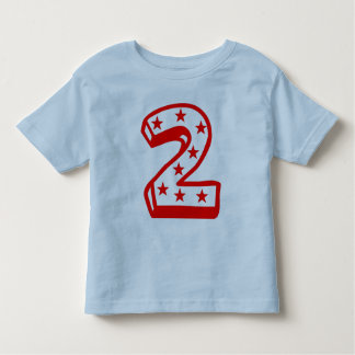Happy Second Birthday Toddler T-shirt