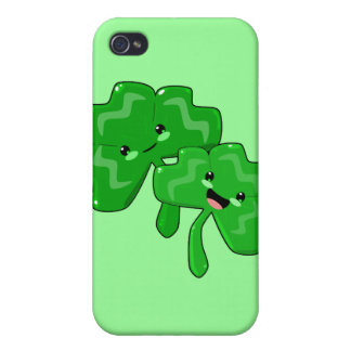 Happy Shamrocks iPhone 4 Cases