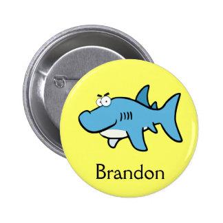 happy Shark Pin