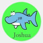 happy Shark sticker