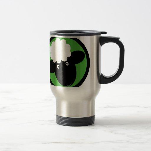 Happy Sheep Travel Mug