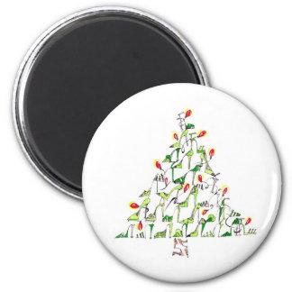 Happy Shoe Year Fridge Magnet