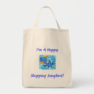 Happy Shopper Grocery Tote Grocery Tote Bag
