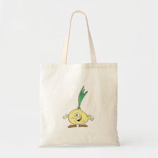 happy silly onion cartoon tote bags