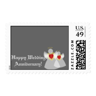 Happy Silver Anniversary-Customize Postage