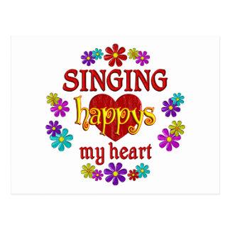 Happy Singing Postcards