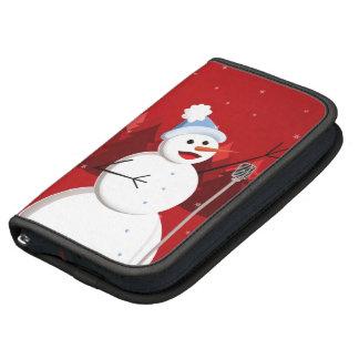 Happy Singing Snowman Christmas Organizer