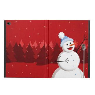 Happy Singing Snowman Christmas Powis iPad Air 2 Case