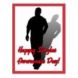 Happy Singles Awareness Day! Postcard
