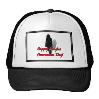 Happy Singles Awareness Day Woman Hat