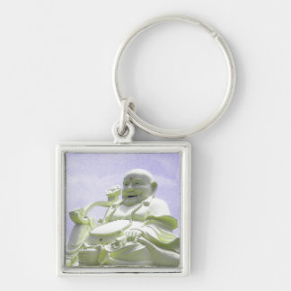 Happy Sitting Buddha Keychain
