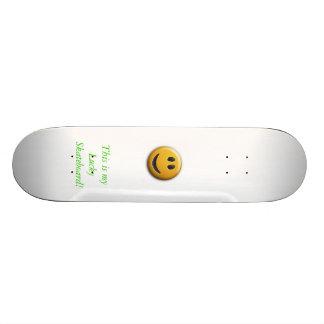 Happy Skateboard Deck