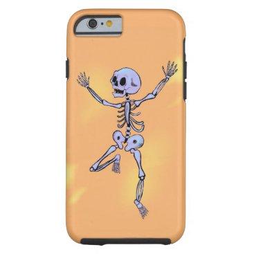 Happy Skeleton Boy Tough iPhone 6 Case