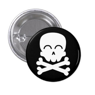 Happy Skull Button