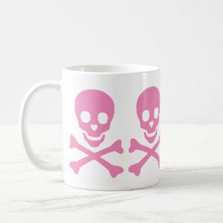 Happy Skull Classic White Coffee Mug