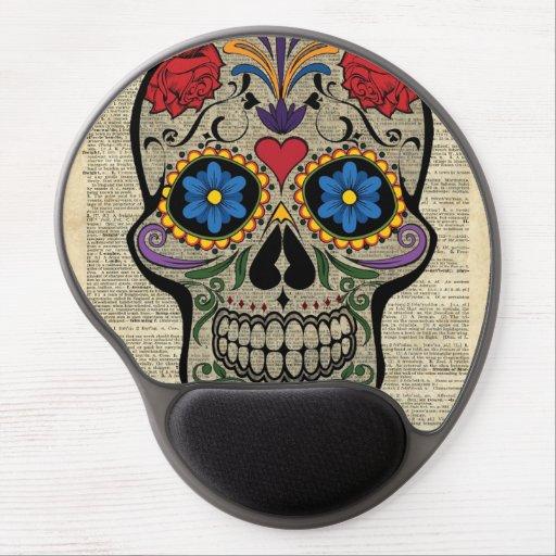Sugar Skull Gel Mouse Pad