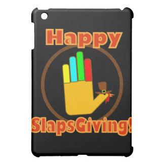 Happy Slapsgiving Design iPad Mini Cases