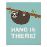 Happy Sloth Poster