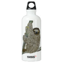 Happy Sloth Water Bottle