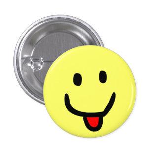 Happy Smile 1 Inch Round Button
