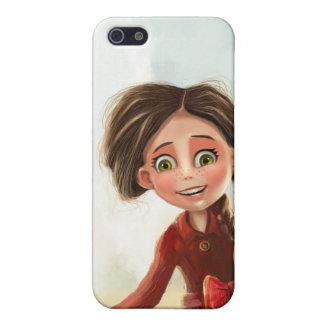 happy smile cartoon girl iPhone SE/5/5s cover
